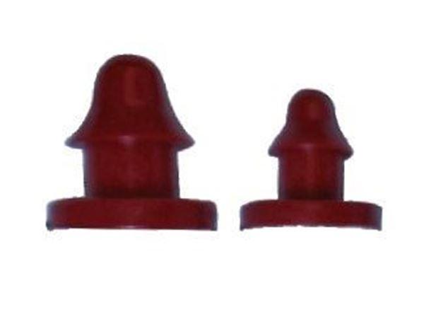 """Снимка на Тапа ф4 за PVC микро тръба тип """"Спагети"""""""